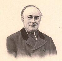 Portrait Louis Duchesne Saint-Servan Ille et Vilaine Philologie Archéologie