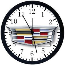 Cadillac Black Frame Wall Clock Nice For Decor or Gifts A465