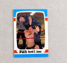 David Jones Pro Wrestling Trading Card Wrestler WWE WWF Indy Rare New