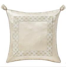 Waterford Copeland Square Champagne Tassel Euro Pillow Sham