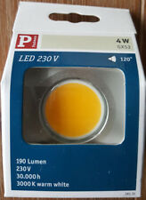 Paulmann 281.31 LED disc 4 W gx53 blanco cálido NUEVO