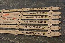 (USED) TOSHIBA 40L1333B   LED STRIP (B) SVS400A79_4LED_B  SVS400A73_4LED_B (t11