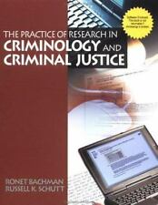 The Practice of Research in Criminology and Criminal Justice (The Pine-ExLibrary
