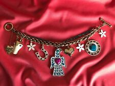 Betsey Johnson Indian Summer Dream Catcher Horse Eagle Horseshoe Heart Bracelet