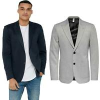 Only &  Sons Men's Blazer Long Seelve Regular Fit Classic Jacket