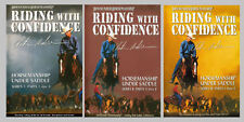 Clinton Anderson Riding With Confidence Series I-Ii-Iii 12 Dvd's Set