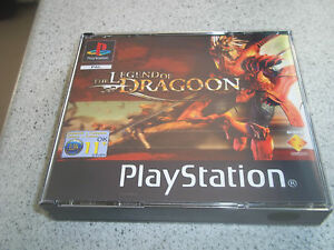 THE LEGEND OF DRAGOON..BOX ART AND EMPTY CASE ONLY.PLAYSTATION 1 (PS1)