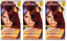 3x Garnier Belle Color Creme 30 Intensiv-Rot