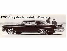 1961 Chrysler Imperial LeBar  Auto  Refrigerator Magnet Stocking Stuffers