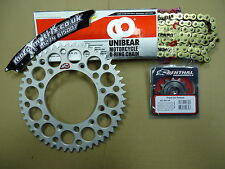 47 14 T UNIBEAR O Ring Chain And Renthal Sprocket Kit DRZ 400 SM S E 00-20
