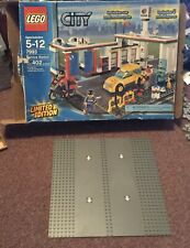 Lego City Service Station Limited Edition (7993) I complete Baseplate Box Only