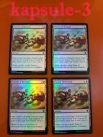 4x Portent of Betrayal | FOIL | Theros Beyond Death | MTG Magic Cards
