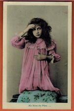 1908 - Carte Postale - Au nom du Pere - Priere - Fantaisie - A.41