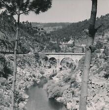 GOUVEIA - MANGUALDE c. 1950 - Pont sur le Mondego Portugal - NV 238