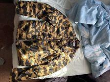 bape camo Bomber Jacket Size XL Fits L