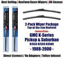2-Pack NeoForm Wipers fit 1988-2000 GMC K1500 Suburban K2500 - 16180x2