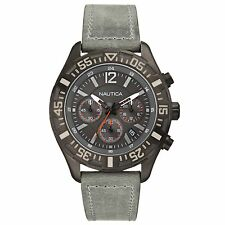 Brand New with tag Nautica Men 45mm Case NST 402 Chronograph Watch N18720G