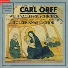 TÖLZER KNABENCHOR - WEIHNACHTS-GESCHICHTE U.-LIEDER  CD 28 TRACKS ORFF NEW+