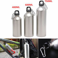 400/600/750ml Stainless Steel Wide Mouth Drinking Sports Cycling Water Bottle
