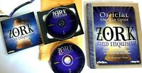 Zork Grand Inquisitor 1997 PC 2 disc game manual poster & Strategy Guide no box