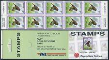 Papua New Guinea 804 booklet,MNH.Mi 683 MH. Birds 1993.Rhagologus leucostigma.