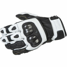 Scorpion SGS MKII Leather Motorcycle Street Gloves - White - Size: Small