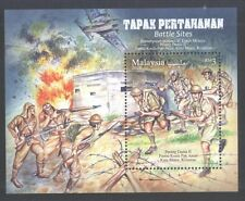 MALAYSIA 2016 WAR BATTLE SITES SOUVENIR SHEET OF 1 STAMP IN MINT MNH UNUSED
