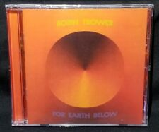 For Earth Below by Robin Trower (CD, 2012, Iconoclassic) - NEW *CRACKED