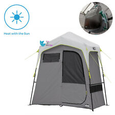 Room Camping Shower Changing Shelter Outdoor Camp Gear Solar Heated Bath Tent