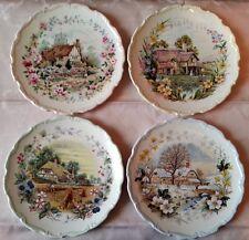 Royal Albert  n.4 piatti porcellana inglese Le Quattro Stagioni Cottage Garden