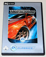 Need for speed-underground 1-PC juego DVD