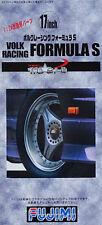 FUJIMI 19329 17inch Volk Racing Formula S Felgen mit Reifen (TW-60) in 1:24