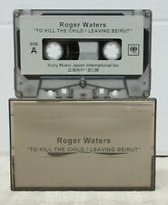 ROGER WATERS To Kill The Child 2004 JAPAN PROMO Only CASSETTE Pink Floyd