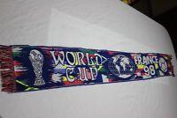BUFANDA  DE FUTBOL DE WORLD CUP FRANCE 98 CAMPEONATO DEL MUNDO FRANCIA 98  SCARF