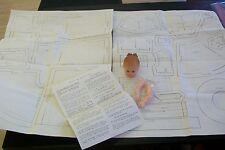 "11"" ""Betty the Bottle Doll""Parts, Patterns & Instruction Kit;Vinyl/Plastic,Craft"