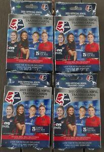 2021 Parkside NWSL 25 Soccer Card Hanger Box Lot (4) - Premier Edition - RARE
