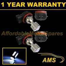 2x H11 WHITE 4 CREE LED ANTERIORE principale HIGH BEAM LAMPADINE AUTO KIT XENON mb503801