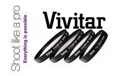 4Pcs Vivitar Macro +1/+2/+4/+10 Lens Set For Fujifilm Finepix HS30EXR HS33EXR