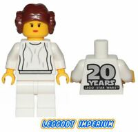 LEGO Minifigure Star Wars - Princess Leia 20th Anniversary - sw1022 FREE POST