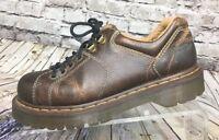Dr Doc Martens 10940  Airwair Men's Brown Leather Oxfords Shoes US 8 EU 41