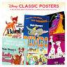 """Disney Animation Classic Posters 2020-2021 16 Month Wall Calendar 12"""" X 24"""""""