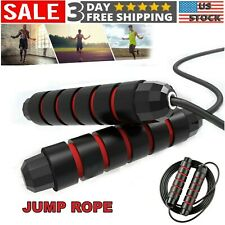 Skipping Rope Nylon Adjustable Jump Boxing Fitness Speed Rope Training Y3S
