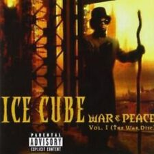 Ice Cube - War And Peace Volume 1 (The War Disc) (NEW CD)