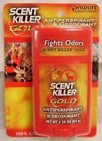 Hunting Scent Killer Gold Wildlife Research Deodorant Antiperspirant