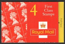 Gb Qeii Barcode Stamp Booklet Hb9 4 x 1st 1995 Sg Y1671la R J Mitchell Spitfire