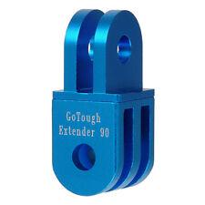GoTough 20mm Blue 90° Extender for GoPro 2 Prong Mount - Aluminum 90° Extension