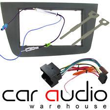 DFP-18-01 SEAT ALTEA - TOLEDO Car Stereo Radio Double Din Fascia ISO Aerial Kit
