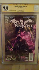 Batman The Dark Knight #5 CGC 9.8 AUTOGRAPHED by DAVID FINCH & PAUL JENKINS