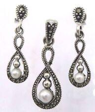 Natürliche Echtschmuck-Sets für Damen mit Perle