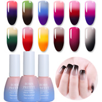 10ml Wärme 3 Farben Temperatur Farbe Ändern Soak Off UV Gellack DIY Born Pretty